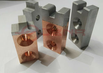 China Projection Welding Electrodes Class 10 Tungsten 55% Copper 45% Facings And Inserts supplier