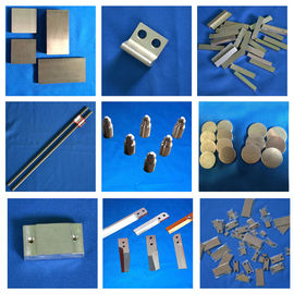 China Silver Tungsten Alloy Welding Electrodes For PCD / Electrical Contact factory
