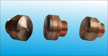 China Stud Nut Welding Electrode With Copper Tungsten Face , High Wear Resistance factory