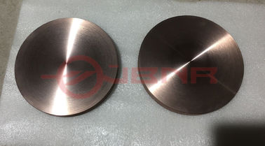 China Mo - Cu Mo70Cu30 Heat Sink Polished Molybdenum And Copper Wafer / Disk factory