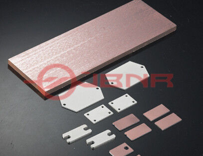 Molybdenum Copper Heat Sink Hermetic Packages Electronics For Optical Communication